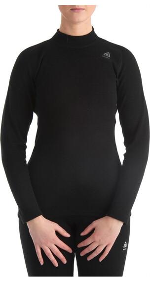 Aclima W's Warmwool Shirt Crew Neck Jet Black
